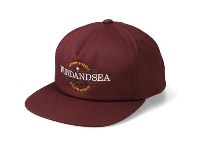 WIND AND SEA Be Youth Town Cap Burgundyの写真