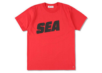 SNKR DUNK × WIND AND SEA Sea Tee Redの写真