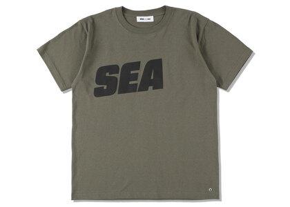 SNKR DUNK × WIND AND SEA Sea Tee Oliveの写真