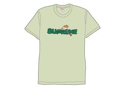 Supreme Lizard Tee Pale Mintの写真