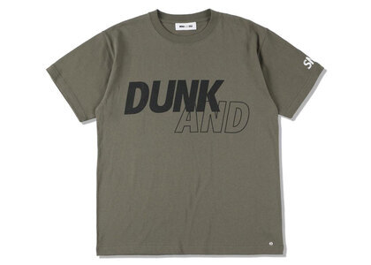 SNKR DUNK × WIND AND SEA Dunk Tee Oliveの写真
