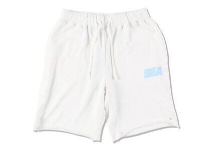 SNKR DUNK × WIND AND SEA Sea Sweat Shorts Whiteの写真