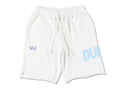 SNKR DUNK × WIND AND SEA Dunk Sweat Shorts Whiteの写真