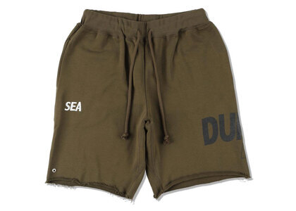 SNKR DUNK × WIND AND SEA Dunk Sweat Shorts Oliveの写真