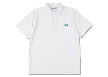 WIND AND SEA Sea Dry Kanoko Polo Shirt Whiteの写真