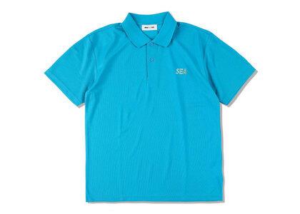 WIND AND SEA Sea Dry Kanoko Polo Shirt T.Blueの写真