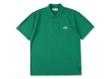 WIND AND SEA Sea Dry Kanoko Polo Shirt I.Greenの写真