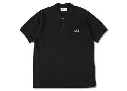 WIND AND SEA Sea CT Kanoko Polo Shirt Blackの写真