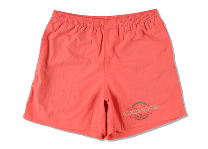 WIND AND SEA Be Youth Town Beach Shorts Coralの写真
