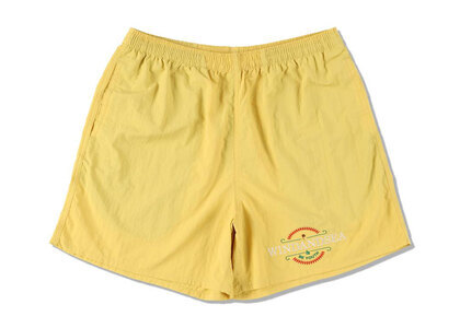 WIND AND SEA Be Youth Town Beach Shorts Yellowの写真