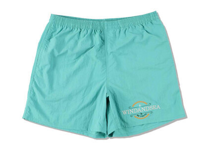 WIND AND SEA Be Youth Town Beach Shorts E.Greenの写真