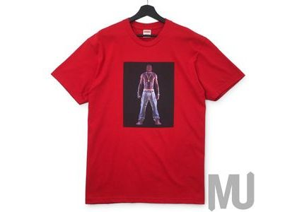 Supreme Tupac Hologram Tee Redの写真