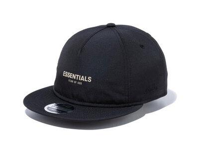 New Era RC 9FIFTY Fear Of God Essentials Logo Blackの写真