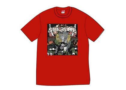 Supreme Dragon Tee Redの写真