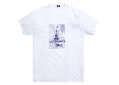 Kith Floral Navy Eiffel Tee Whiteの写真
