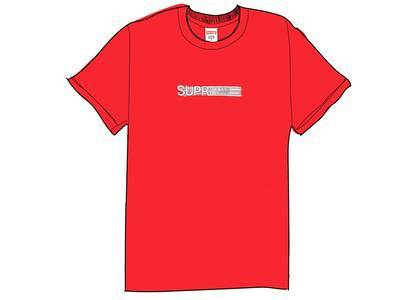 Supreme Motion Logo Tee (SS20) Redの写真