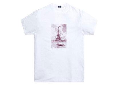 Kith Floral Marron Eiffel Tee Whiteの写真