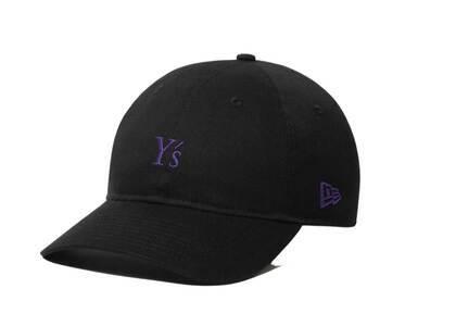 Y's × New Era 9THIRTY Cross Strap Spring & Summer 2020 Black/Purpleの写真