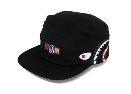 Bape Shark Jet Cap Black (FW21)の写真