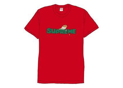 Supreme Lizard Tee Redの写真