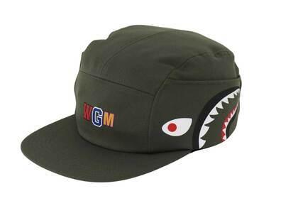 Bape Shark Jet Cap Olive Drab (FW21)の写真
