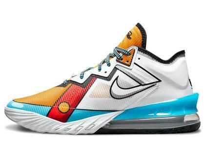 Nike Lebron 18 Low Cartoon Artの写真