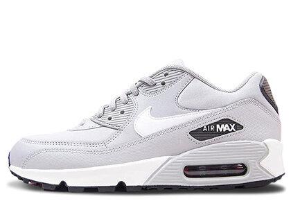 Nike Air Max 90 Wolf Grey White Black Womensの写真