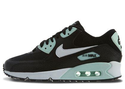 Nike Air Max 90 Black Summit White Igloo Womensの写真