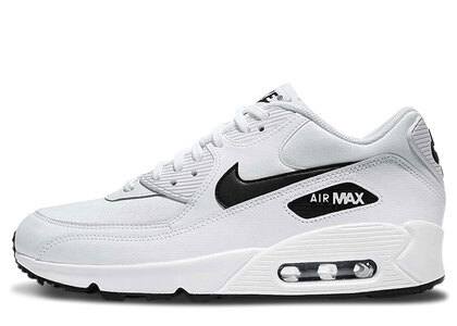 Nike Air Max 90 White Black Womensの写真
