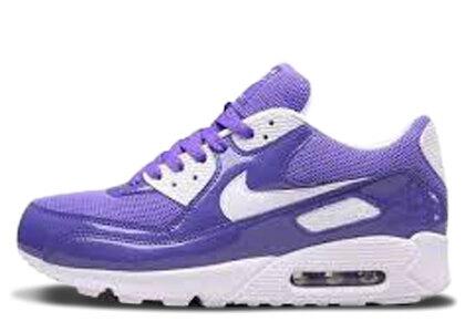 Nike Air Max 90 Pure Purple/White Womensの写真