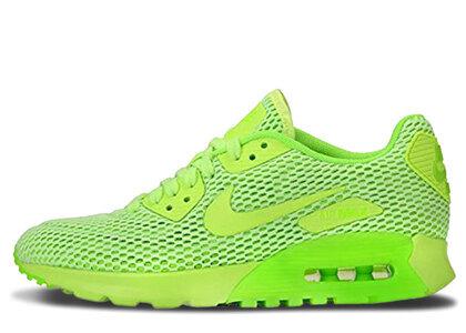 Nike Air Max 90 Ultra Breathe Ghost Green Electric Green Womensの写真