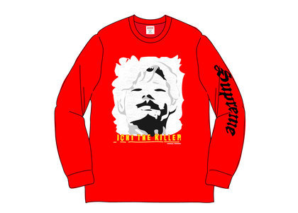 Supreme Ichi The Killer L-S Tee Redの写真