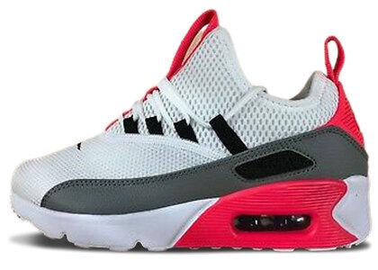 Nike Air Max 90 Ez White Dust-Solar Red-Black Womensの写真