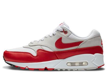 Nike Air Max 90/1 White University Red Womensの写真