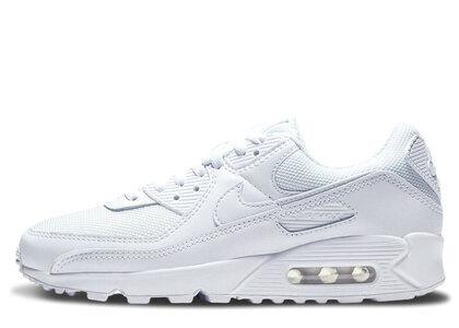 Nike Air Max 90 Triple White Womensの写真