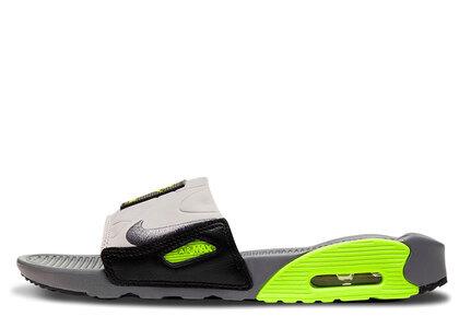 Nike Air Max 90 Slide Smoke Grey Volt Black Womensの写真