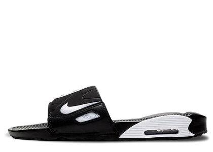 Nike Air Max 90 Slide Black White Womensの写真