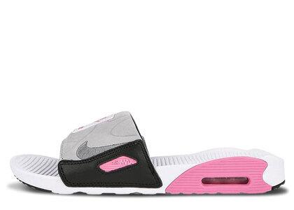 Nike Air Max 90 Slide White Rose Cool Grey Womensの写真