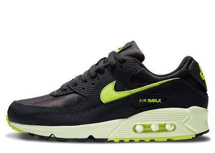 Nike Air Max 90 Dark Smoke Grey Volt Womensの写真