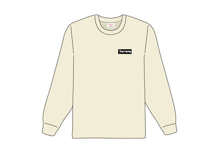 Supreme Sacred Unique L-S Tee Brownの写真