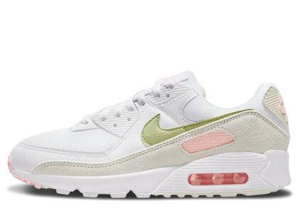 Nike Air Max 90 White Olive Womensの写真