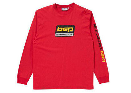 The Black Eye Patch Techware L/S Tee Red (FW21)の写真