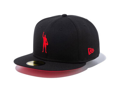 New Era 59FIFTY COMPOUND Play for Change NBA Chicago Bulls Red Under Visorの写真