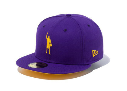 New Era 59FIFTY COMPOUND Play for Change NBA Los Angeles Lakers Yellow Under Visorの写真