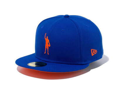 New Era 59FIFTY COMPOUND Play for Change NBA New York Knicks Orange Under Visorの写真