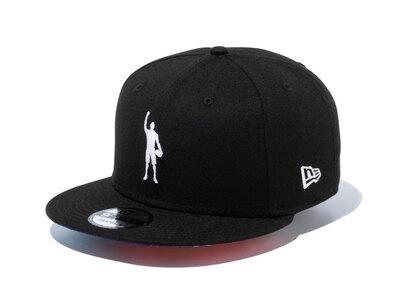 New Era 9FIFTY COMPOUND Play for Change NBA Logo Black TyeDye Under Visorの写真