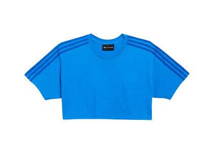 adidas Ivy Park Crop T-Shirt Blueの写真