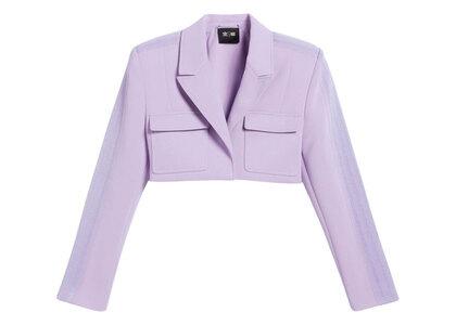 adidas Ivy Park Cropped Suit Jacket Purpleの写真