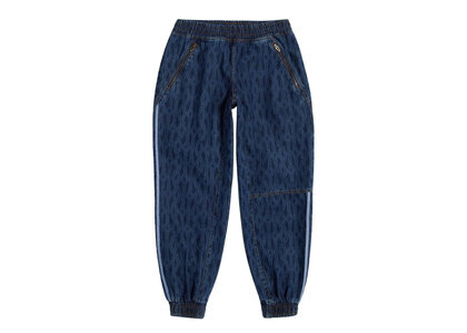 adidas Ivy Park Monogram Denim Track Pants (All Gender) Dark Denimの写真