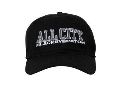 The Black Eye Patch All City Cap Black (FW21)の写真